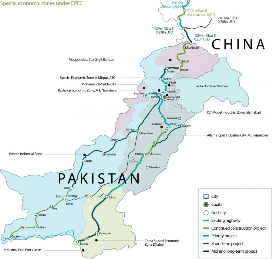 BTH3 Map of Pakistan