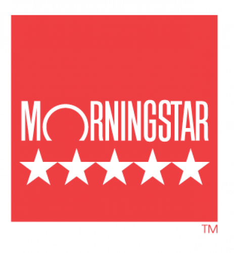 Morningstar 5 Star ratings
