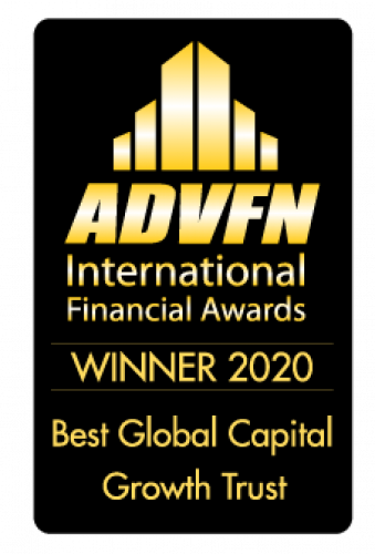 ADVFN Best Global Capital Growth Trust Award 2020