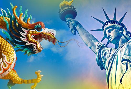 China v West
