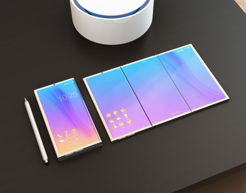 Emerging markets - foldable phone